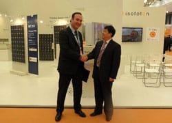Isofoton e Affirma firmano accordo con la cinese Datang Renewable