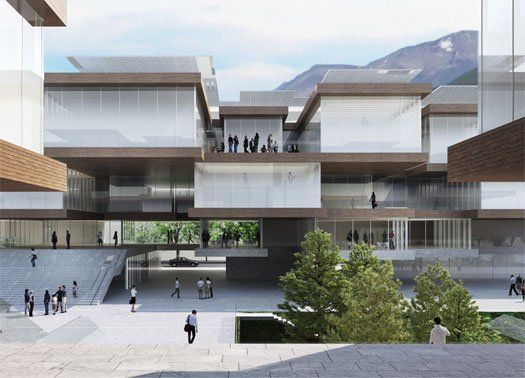 Università della Valle d'Aosta: presentato il progetto di Cucinella