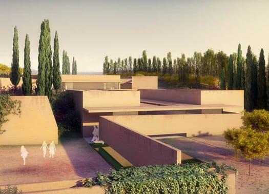 'Atrio de la Alahambra': il progetto di Siza e Santos