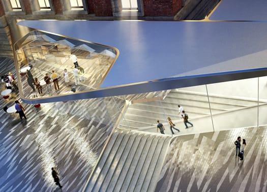 Amanda Levete per l'ampliamento del Victoria & Albert Museum di Londra