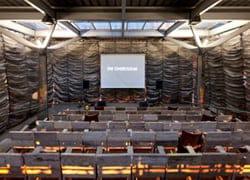 La membrana DuPont™ AirGuard® per un temporary cinema