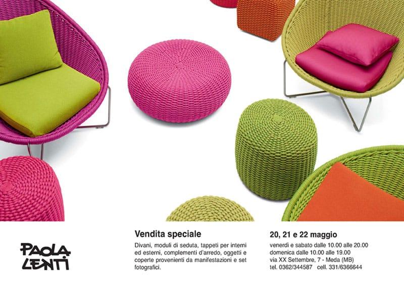 Vendita speciale divani e tappeti Paola Lenti