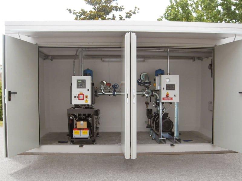 Alimentazione impianti antincendio ad acqua: da Pircher il sistema Fire PACK