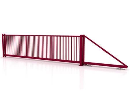 Da Betafence il cancello autoportante senza binario