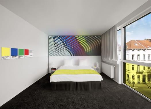 Tutta l'energia del colore nel Pantone Hotel