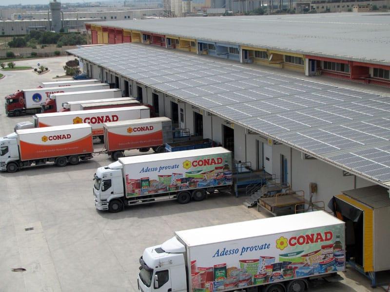 Inaugurato il primo impianto fotovoltaico di Conad Sicilia firmato Isofoton