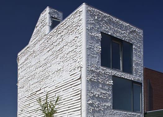 Almere: l'insolita casa per un artista di studioTX