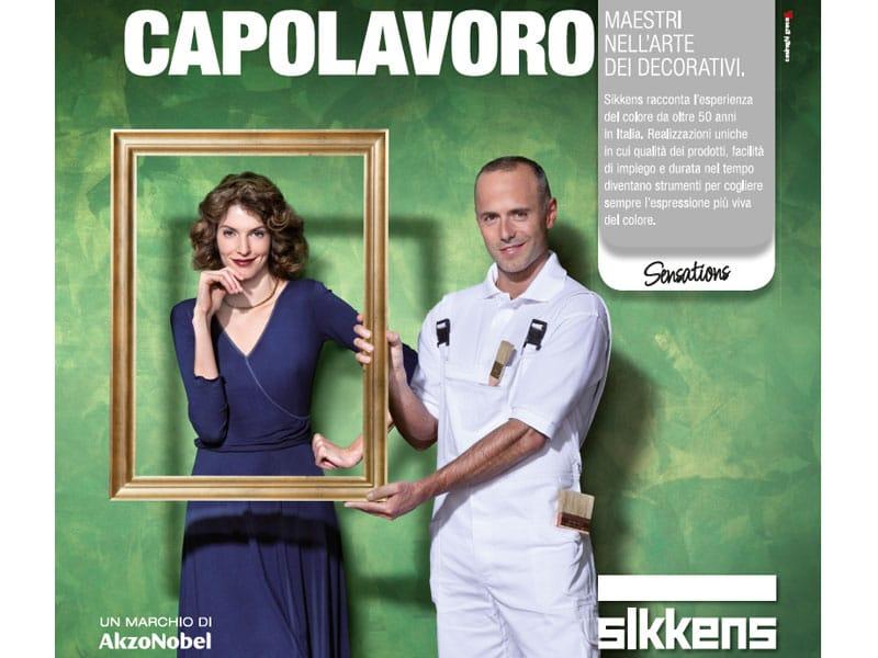 Arriva in Italia la nuova campagna Sikkens Sensations