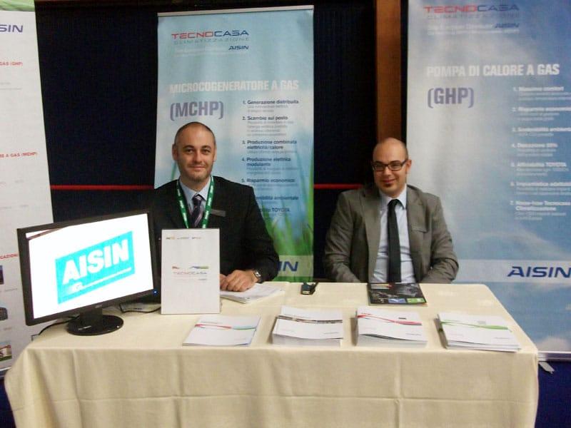In 'mostra' a Milano la microcogenerazione firmata Aisin Tecnocasa Climatizzazione