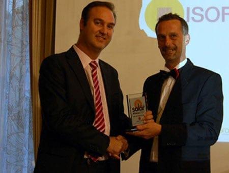Isofoton premiata ad Amburgo con il Solar Award