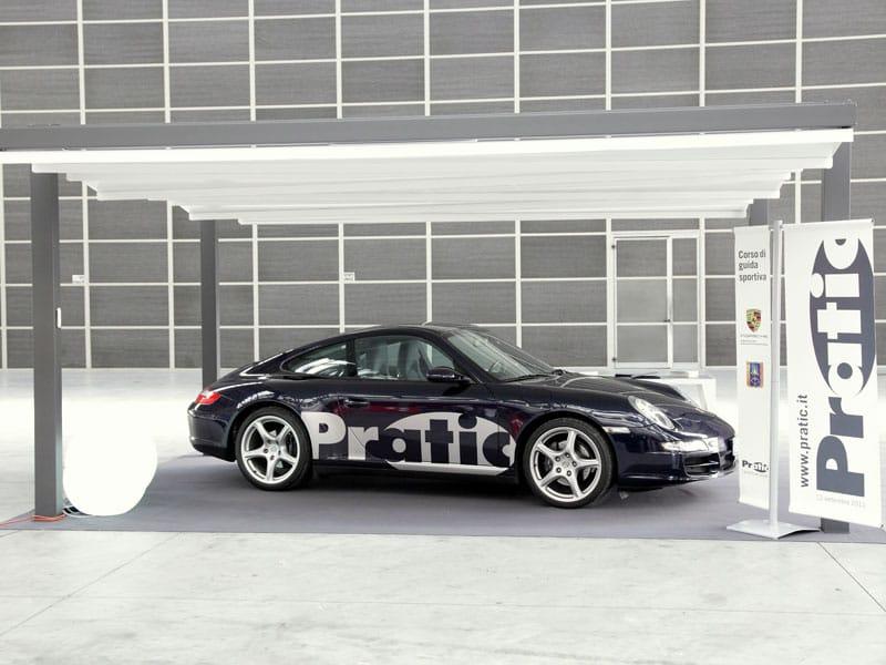 Pratic e Porsche insieme per la sicurezza stradale