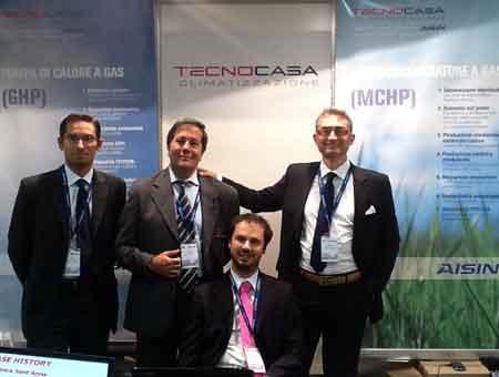 Tecnocasa Climatizzazione a Domotecnica 2011
