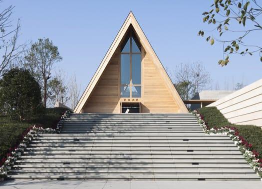 Zhou Li Mei Church, una chiesa nel bosco