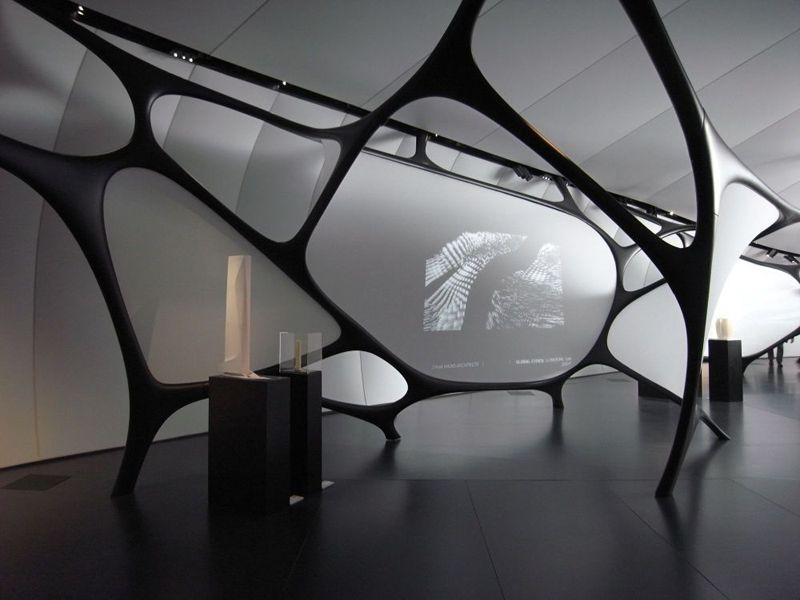 Artigo nello Chanel Mobile Art di Zaha Hadid