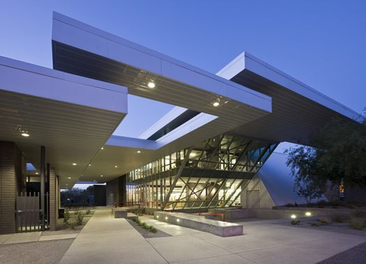 Arizona: lo Schaefer Poetry Center di Line and Space Architecture