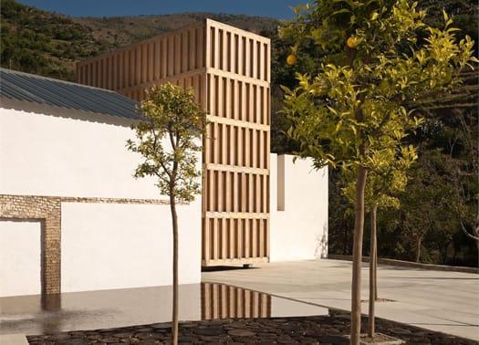 Andalucia: un padiglione in abete finlandese per il Museo dell'Acqua