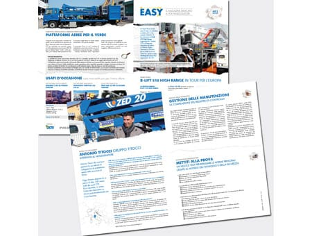 È nato EASY, magazine CTE  per i noleggiatori di piattaforme aeree
