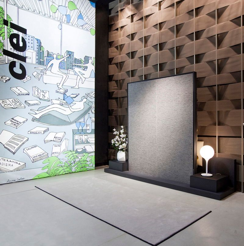 'Interior Innovation Award Winner 2012' a Open Space di Clei
