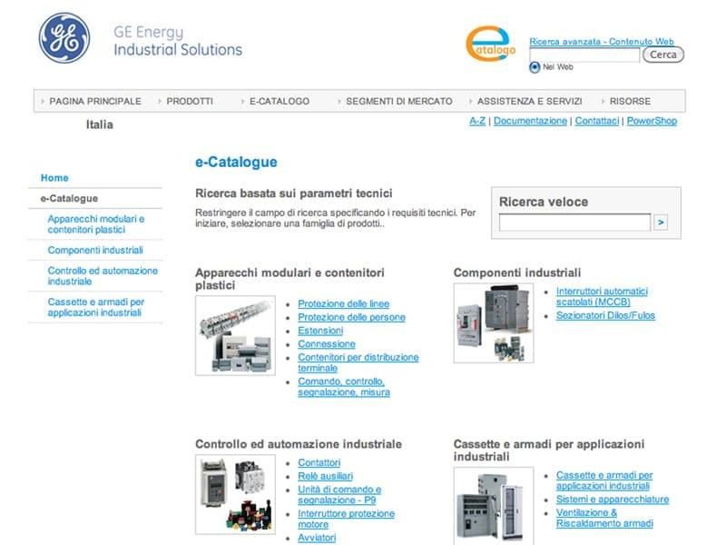 Ge Energy Industrial Solutions lancia il nuovo e-Catalogo