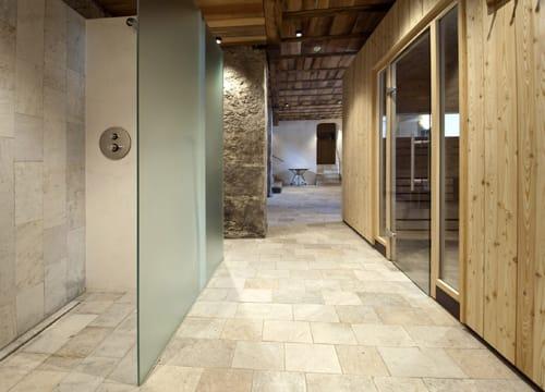 Advantix Vario di Viega nella nuova spa dell'Hotel Sonnenburg