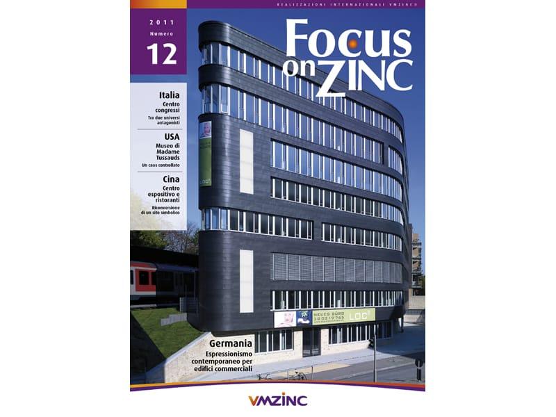 Vmzinc: facciate architettoniche su Focus on Zinc