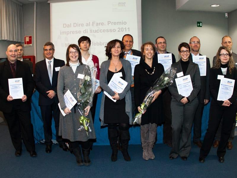 Parigi Industry vince il Premio ''Dal Dire al Fare. Imprese di Successo 2011''