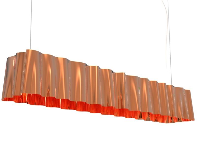 Lampada In Rame Design : Lampade di design diventano protagoniste finetodesign