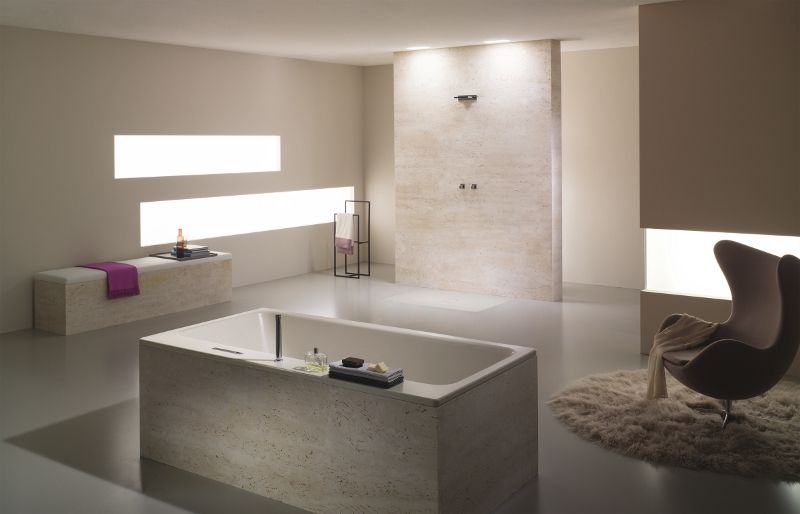 Vasca Da Bagno Kaldewei : Pura natura le vasche da bagno colorate di kaldewei