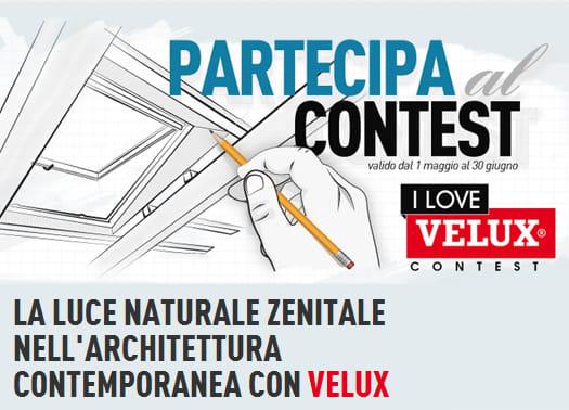 Al via il concorso 'I Love VELUX': la luce naturale zenitale all'opera