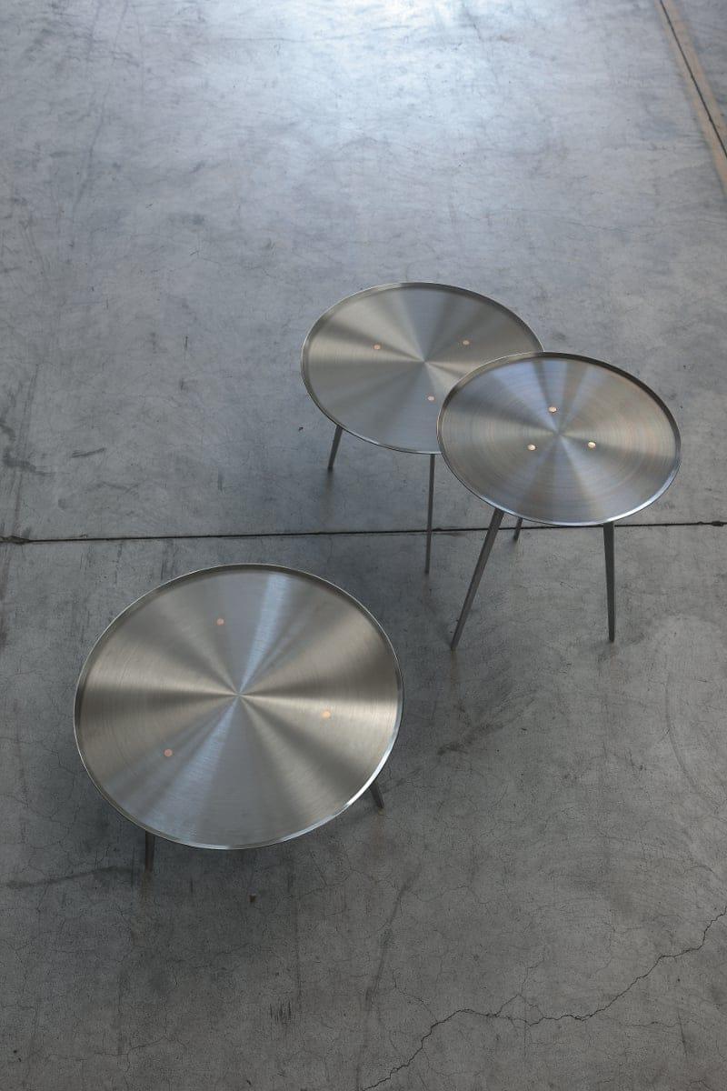 ALIVAR, T-GONG tavolini design Giuseppe Bavuso