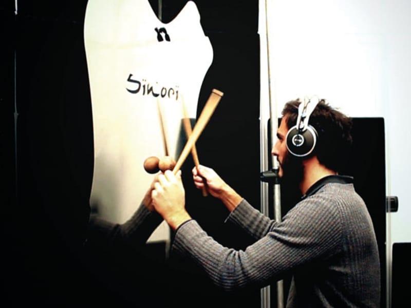 Strumento musicale a percussione Sinori design Filippo Sironi