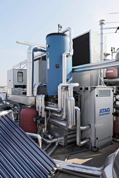 Tecnocasa Climatizzazione, pompa di calore funzionante a gas metano AISIN