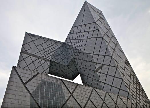 Terminata la sede della China Central Television a Pechino