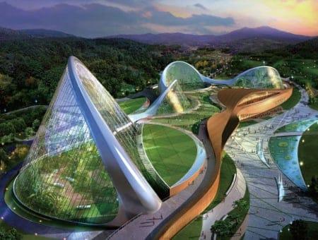 DuPont Glass Laminating Solutions, South Korea's National Ecological Institute (NEI) - Ecorium