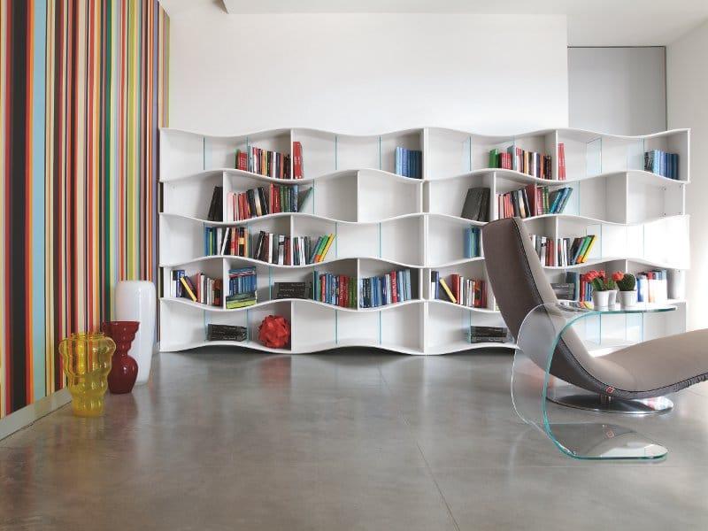 Tonin Casa, libreria Onda design Angelo Tomaiuolo