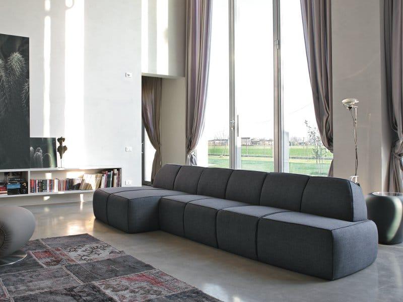 Tonin Casa, divano Blum design Alessandro Crosera
