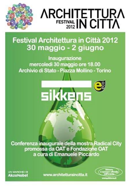 Sikkens a Torino è main sponsor di Architettura in città