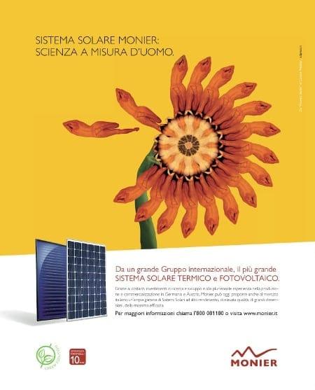'Scienza a misura d'uomo', la nuova campagna pubblicitaria Monier per il 2012