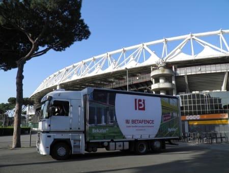 Il piano sicurezza per l'ultima partita di Coppa Italia ha funzionato, anche grazie a Betafence