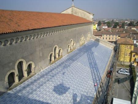 Brianza Plastica per la Chiesa di S. Anna di Lugagnano