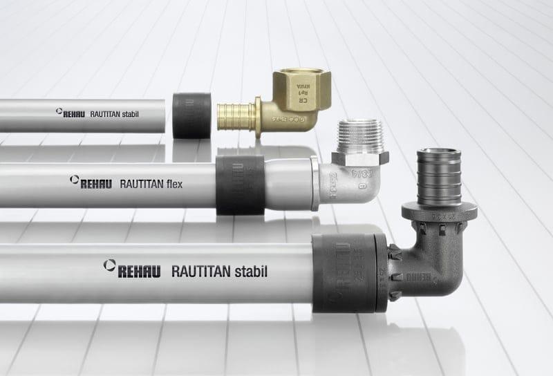 Rehau presenta Rautitan flex: il primo tubo universale non multistrato, per installazioni flessibili