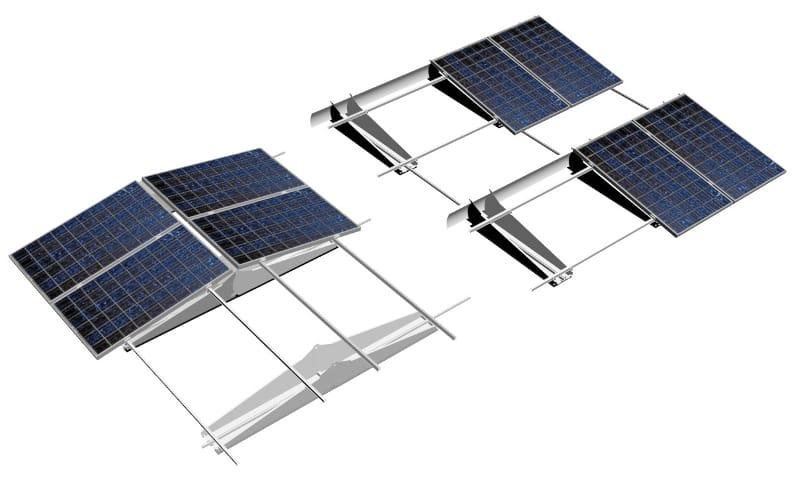 Wagner & Co Solar Italia presenta il nuovo sistema di montaggio TRIC F Box per le coperture piane dei capannoni industriali