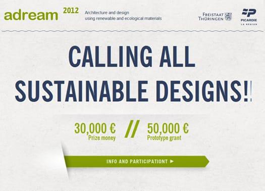 Adream 2012: al termine il concorso sui materiali rinnovabili