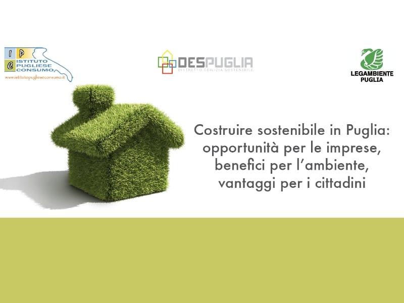 """MasterLAB a """"Costruire sostenibile in Puglia"""", il meeting dell'edilizia pugliese green"""