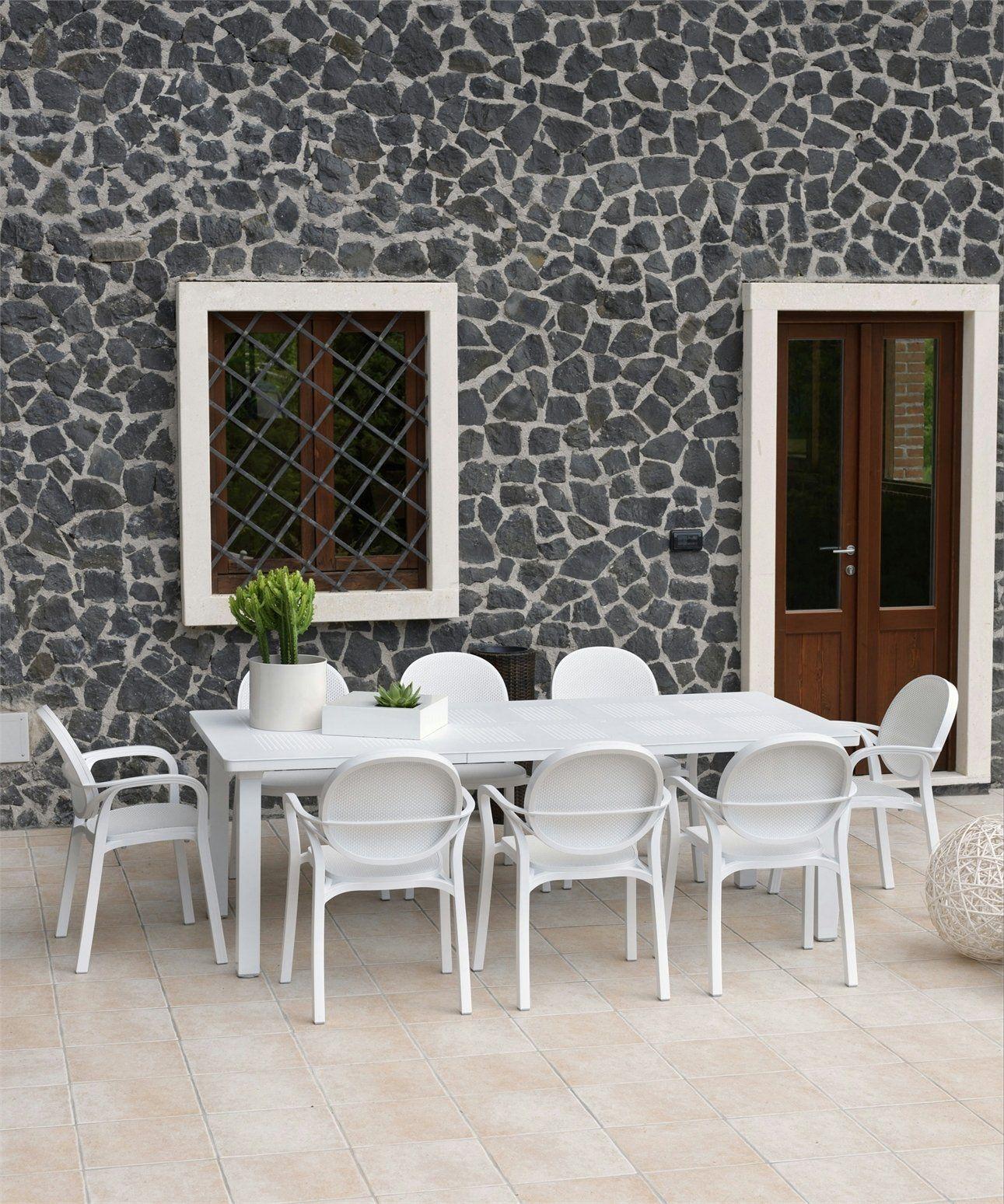 Tavoli Da Giardino Allungabili Nardi.Levante Il Tavolo Da Giardino By Nardi