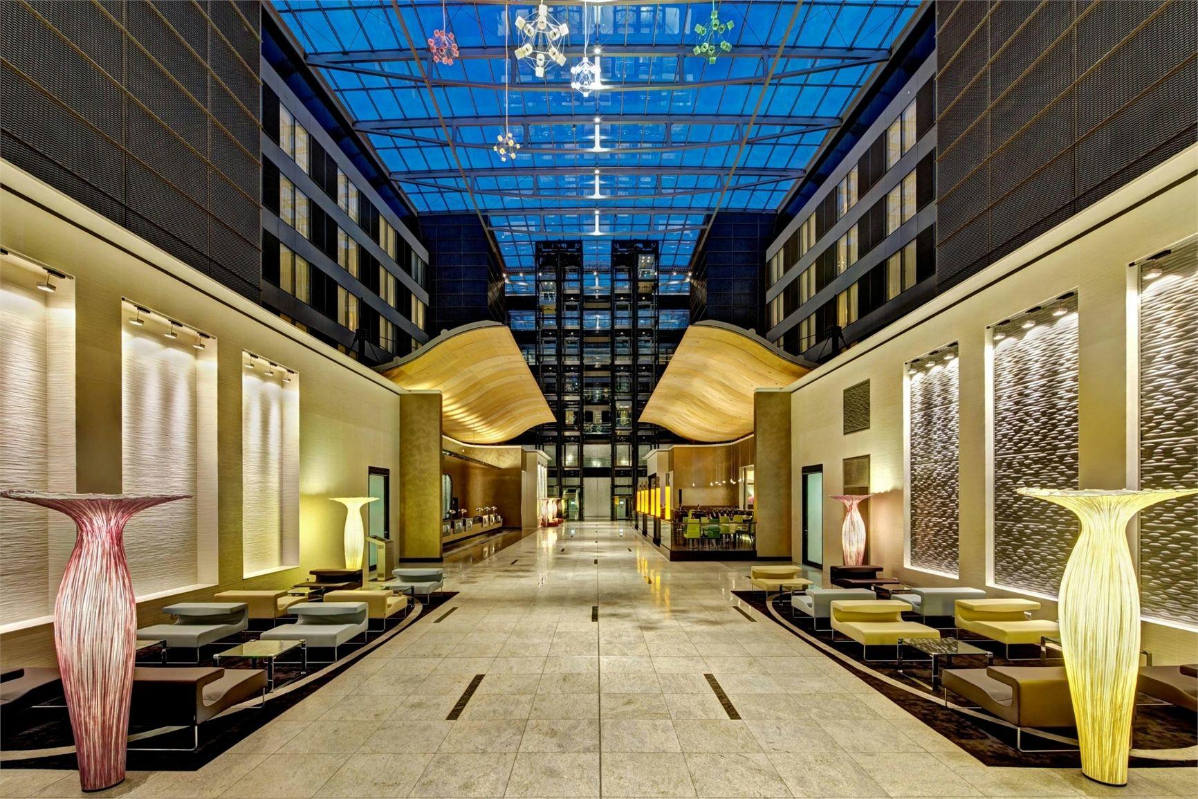 Teuco per l'Hilton Frankfurt Airport Hotel