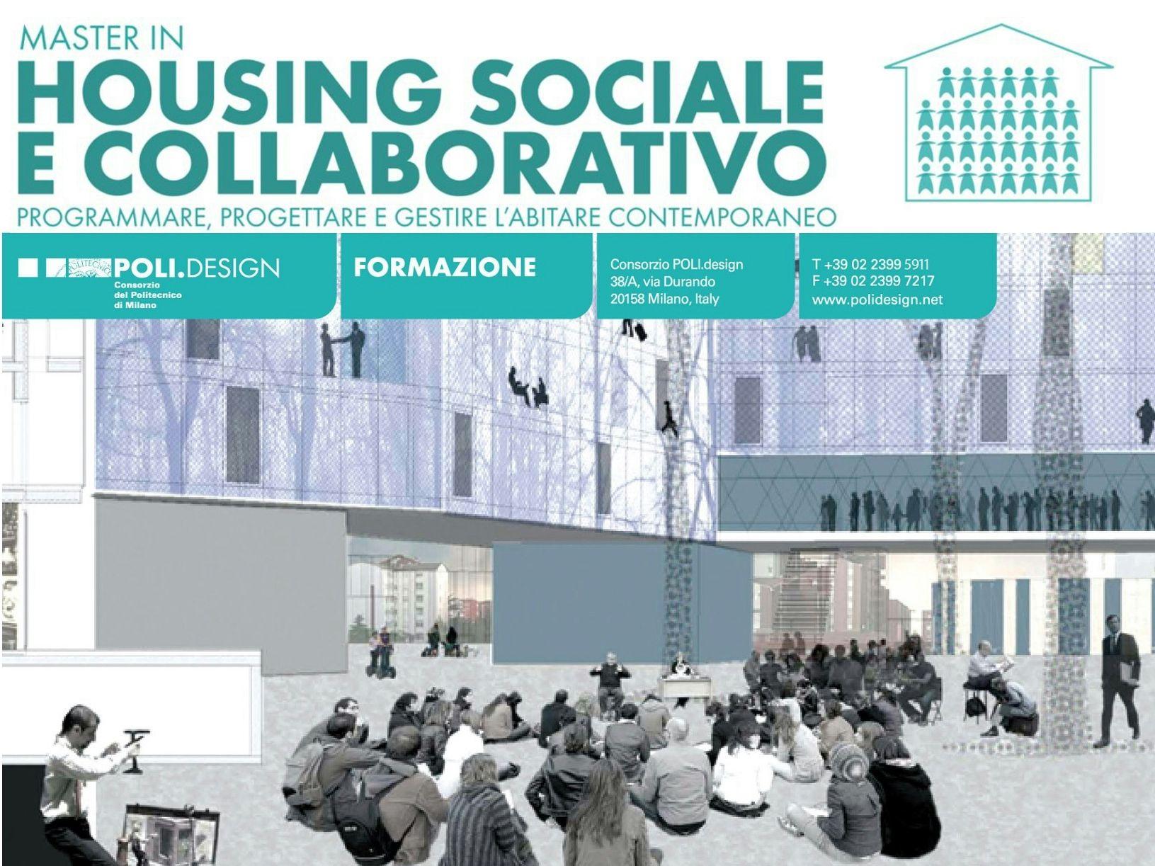 Il Master in Housing Sociale e Collaborativo di POLI.Design