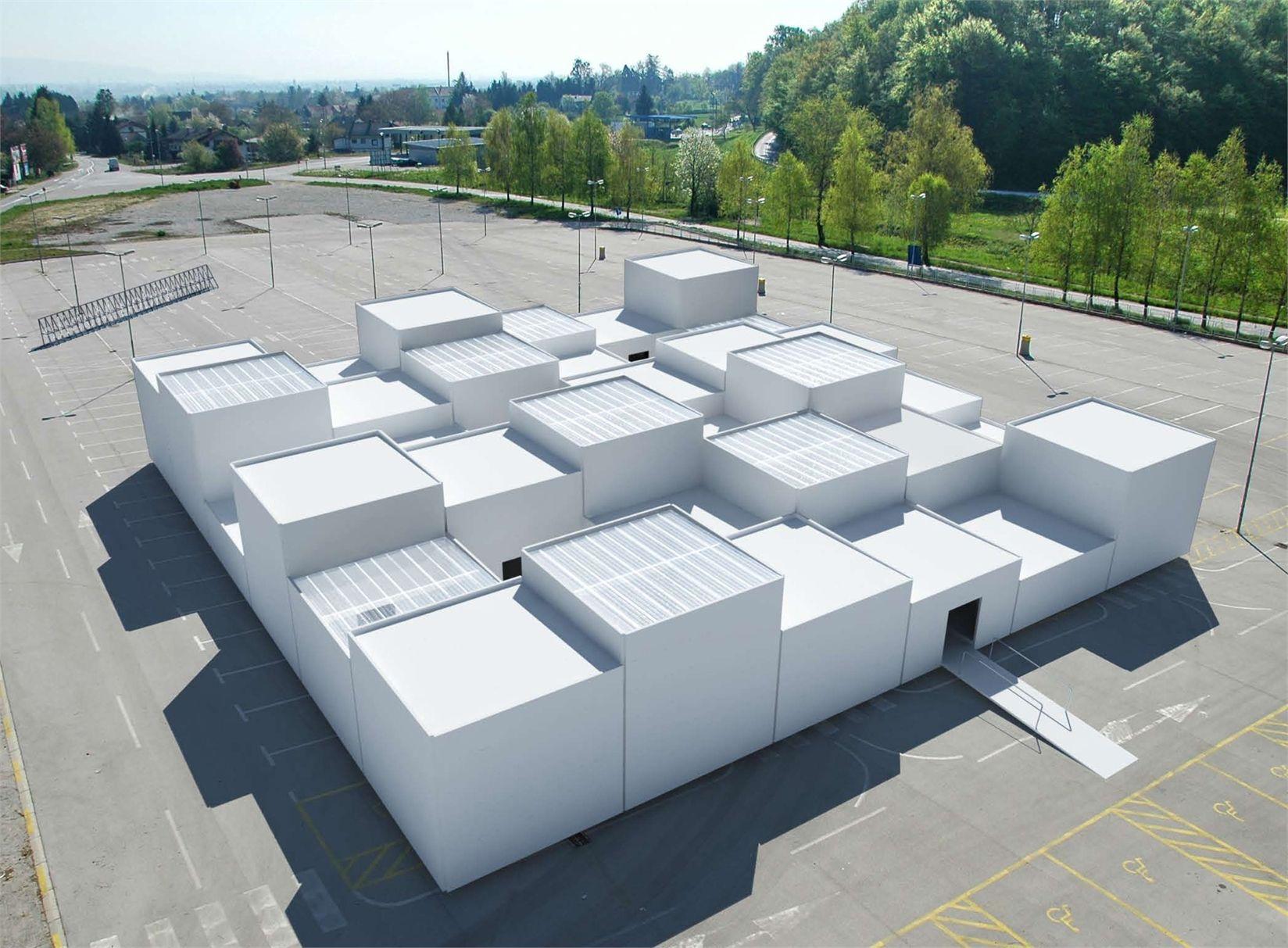 progetto per il Centre Pompidou Mobile, 2009, courtesy Berger&Berger