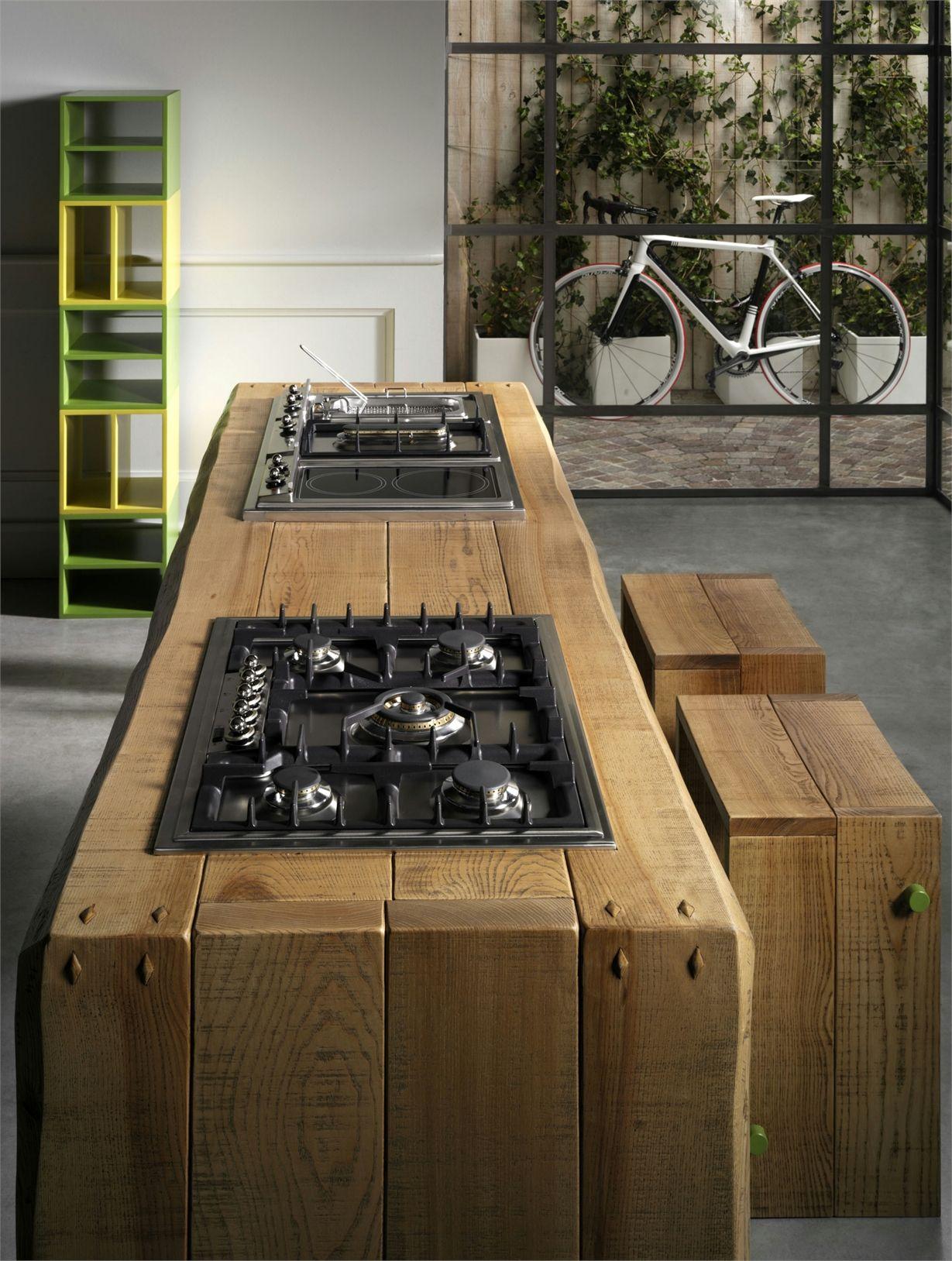 I nuovi tavoli in legno l ottocento - Tavolo lavoro cucina ...