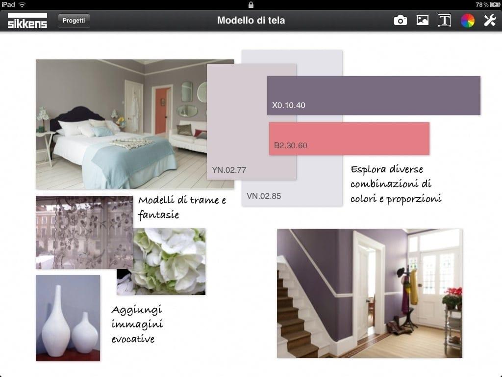Sikkens Colour Concept, l'applicazione gratuita per tablet dedicata ai professionisti del colore